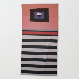 THE LENTICULAR GRAVITATION Beach Towel