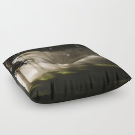 Boring Forest Floor Pillow