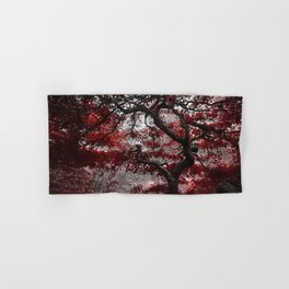 Crimson Autumn Hand & Bath Towel