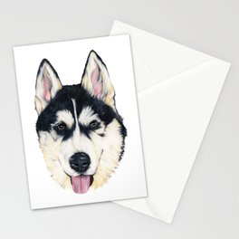 Husky Stationery Cards