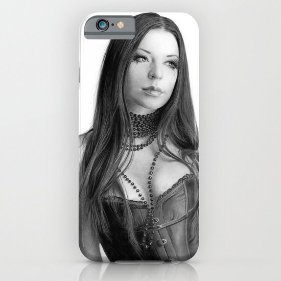 Just a woman - pencil drawing iPhone & iPod Case