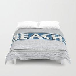 To Beach Duvet Cover