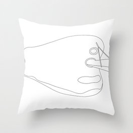 Bullring Birmingham Throw Pillow