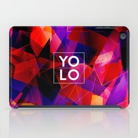 sayings iPad Cases featuring Dreams of YOLO Vol.2 by HappyMelvin