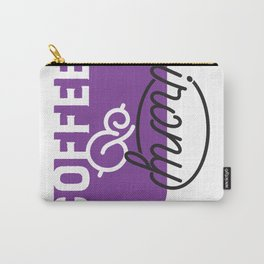 Coffee & irony purple Carry-All Pouch