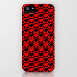 Hearts Love Collage iPhone Case