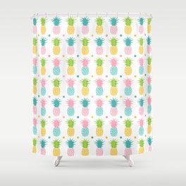 AFE Pineapple Pattern Shower Curtain
