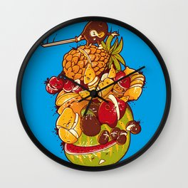 Little Warrior Wall Clock