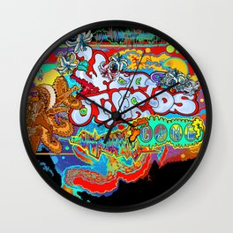 Other Worlds: The Game Logo Design Wall Clock