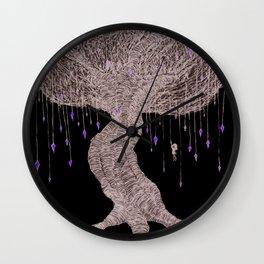 Girl In Tree Wall Clock