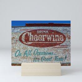 Cheerwine Sign 1 Mini Art Print
