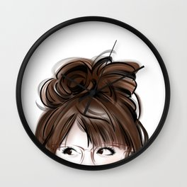 the look in your eyes Wall Clock