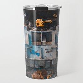 House Construction Travel Mug