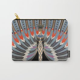 """Art Deco Egyptian Design """"The Nile"""" Carry-All Pouch"""