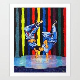 GARO - Twin dance Art Print