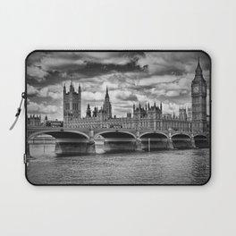 LONDON Houses of Parliament & Westminster Bridge Laptop Sleeve