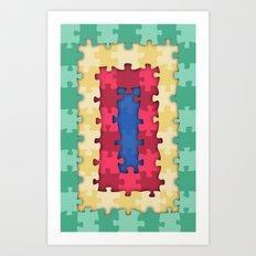 Puzzles Art Print