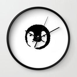 Baby Penguin Face Wall Clock