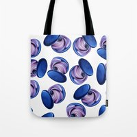 macaron Tote Bags featuring Macaron by BlackEnBlanche