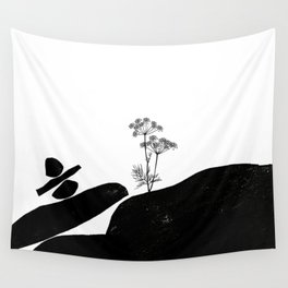 Out Of Resources - Protect Earth Minimalism Wall Tapestry