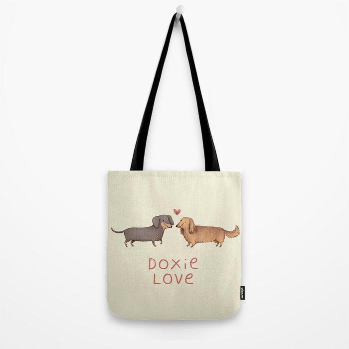 Doxie Love Tote Bag