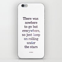 kerouac iPhone & iPod Skins featuring Jack Kerouac Quote by BlakesWorkshop