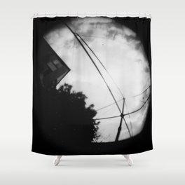 hills hoist Shower Curtain