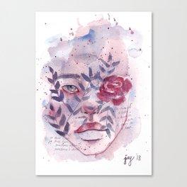 Trivia: Love Canvas Print