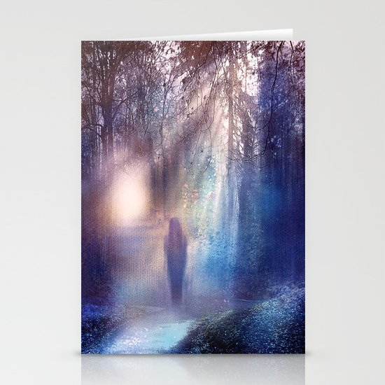 Path lights Stationery Cards