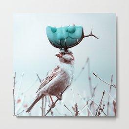 AquaNest - Julien Tabet - Photoshop Artwork Metal Print