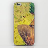 moth iPhone & iPod Skins featuring moth by Laura Moctezuma
