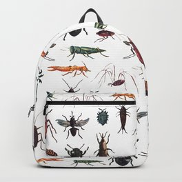 Color Insects Pattern Backpack