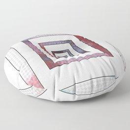 Infinite Rectangle Floor Pillow