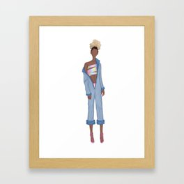 Skewl Daze Framed Art Print