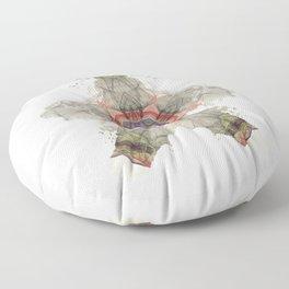 Psychology Art Inkdala XLIV Floor Pillow