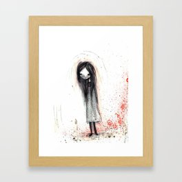 Cady Framed Art Print