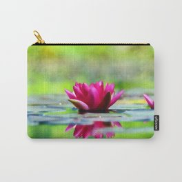 Lily of the Water Carry-All Pouch