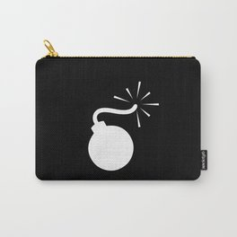 BLACK & WHITE BOMB DIGGITY Carry-All Pouch