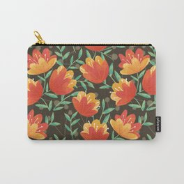 Afternoon Blossoms Carry-All Pouch