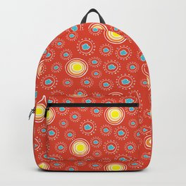 """Joyful Sun"" Pattern by Mellie Test Backpack"