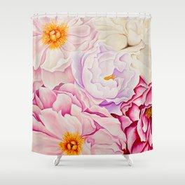 L'amour des Fleurs Shower Curtain