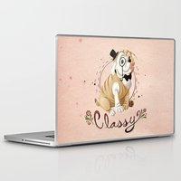 classy Laptop & iPad Skins featuring Classy by Jelly and Paul