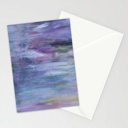Hazy landscape Stationery Cards