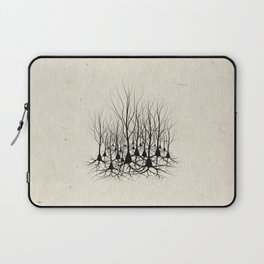 Pyramidal Neuron Forest Laptop Sleeve