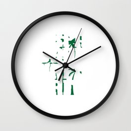 """""""Surfing life"""" for both beach and water lovers like you! Makes a nice and creative gift too!  Wall Clock"""