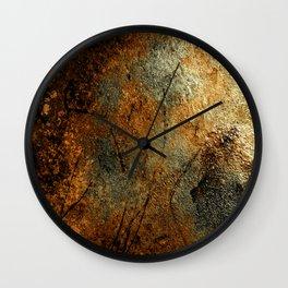 Rust Texture 69 Wall Clock