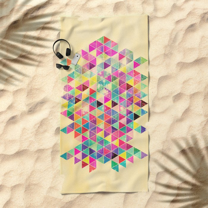 Kick of Freshness Beach Towel