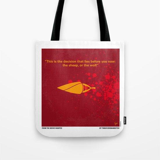No176 My wanted minimal movie poster Tote Bag