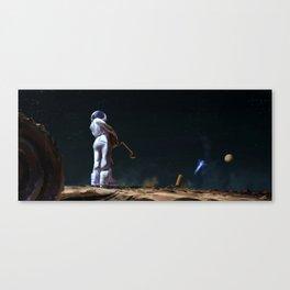 Astro Nostalgy Canvas Print