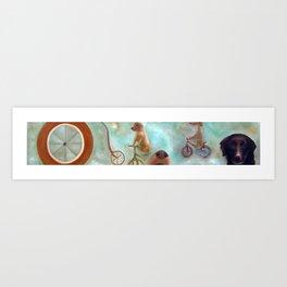 Dogland Art Print